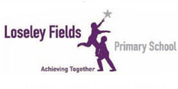 Loseley Fields Primary School* logo