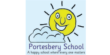 Portesbery School* logo