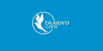 Bluebird Care Worcester logo