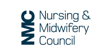 Nursing and Midwifery Council (NMC)* logo