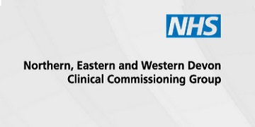 NHS North East West Devon CCG logo