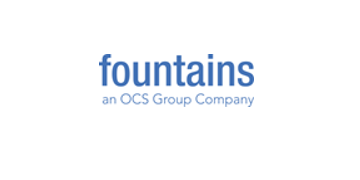 Fountains, an OCS Group Compnany logo