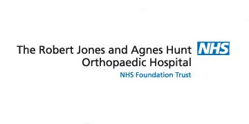 The Robert Jones and Agnes Hunt Orthopaedic Hospital* logo