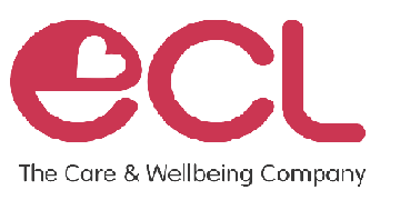 ECL The Care & Wellbeing Company logo