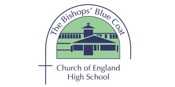 The Bishops' Blue Coat Church of England High School* logo