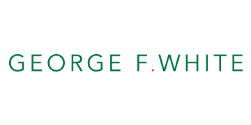 George F White logo