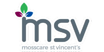 MOSSCARE ST VINCENTS HOUSING logo