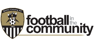 Notts County Football in the Community logo