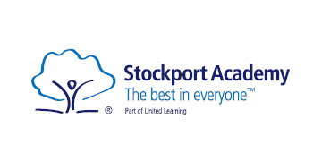 Stockport Academy* logo