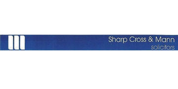 Sharp Cross and Mann* logo