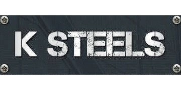 K Steels* logo